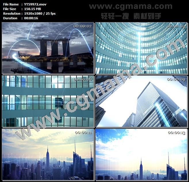 YT59972商业地产商务科技企业计算机大数据3高清实拍视频素材