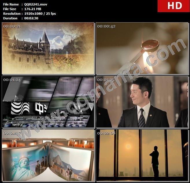 QQ02241中国平安银行宣传片 古今中外 私人银行金融商务合作古代高清实拍高清实拍视频素材