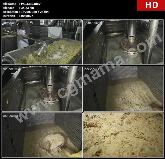 PS03339工人工厂酱菜生产制作机器六必居高清实拍视频素材