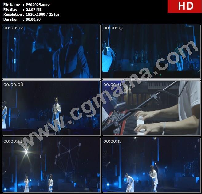 PS02025羽泉组合演唱会舞台演唱乐队乐器粉丝观众高清实拍视频素材