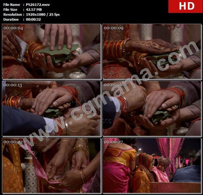 PS26172印度新德里婚礼团结结婚礼仪式高清实拍视频素材