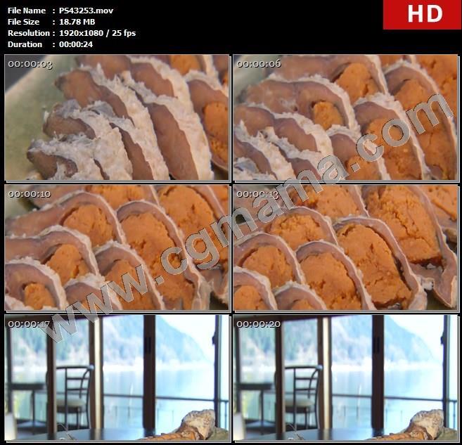 PS43253鲫鱼寿司美食特写日本饮食食物高清实拍视频素材