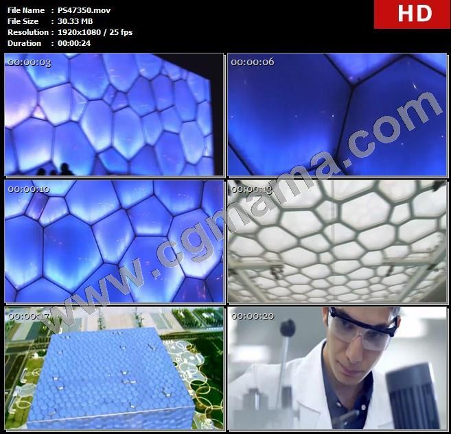 PS47350水立方国家游泳中心建筑材料化学仪器科研人员高清实拍视频素材
