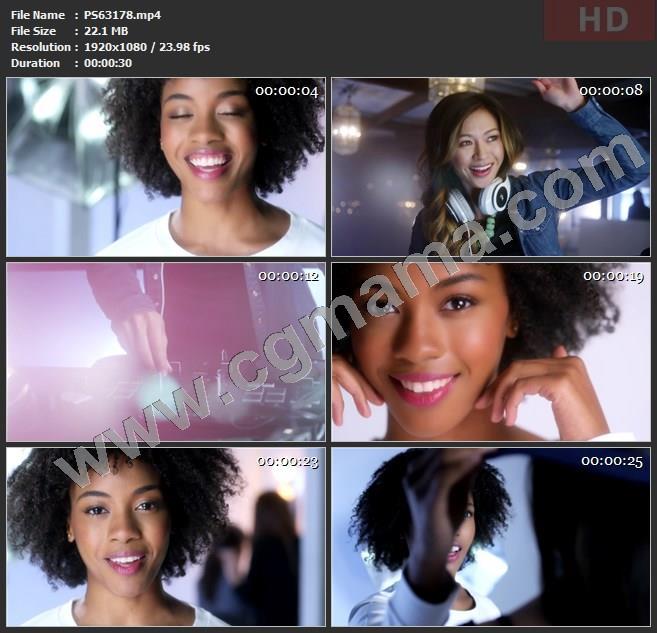 PS63178美宝莲耳机相机护肤品高清广告tvc视频素材