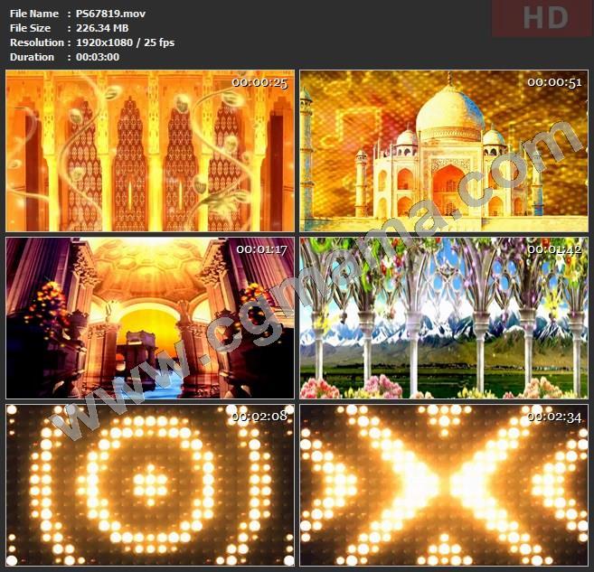 PS67819少数民族地域风情新疆舞歌舞大屏配乐成品舞蹈大屏幕led晚会高清视频素材