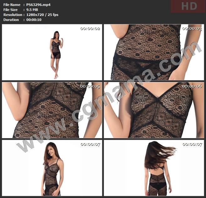 PS63296内衣蕾丝时尚高清广告tvc视频素材
