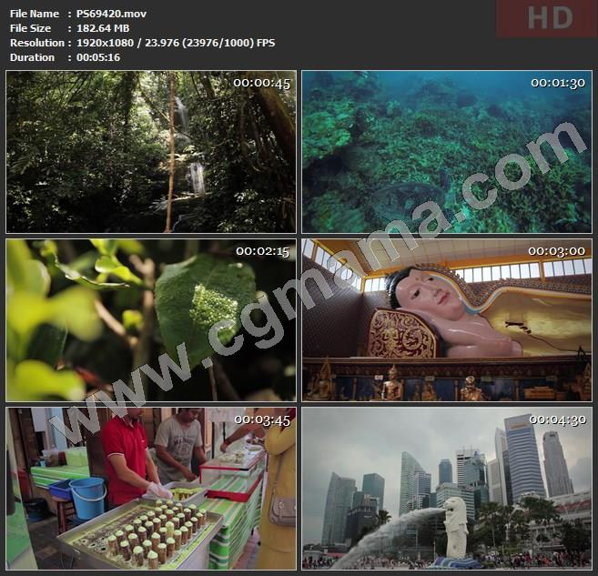 PS69420马来西亚风情旅游精品实拍高清实拍视频素材
