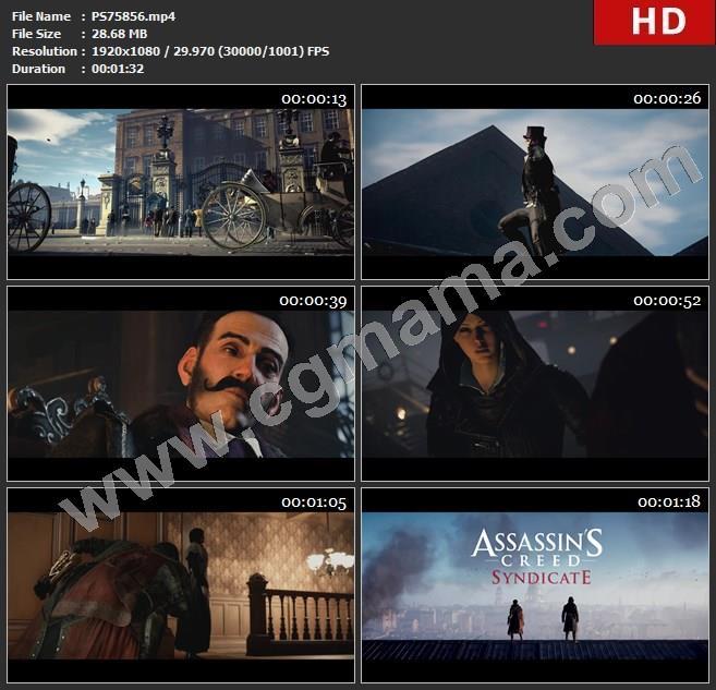 PS75856[1080P]《刺客信条:枭雄》游戏发售宣传片 - 伊薇(无下标)高清视频素材