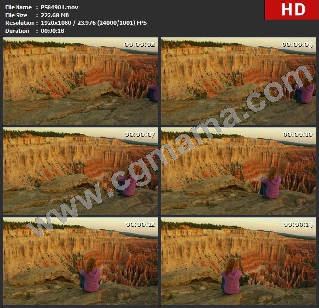 PS84901布莱斯峡谷实拍素材高清实拍视频素材