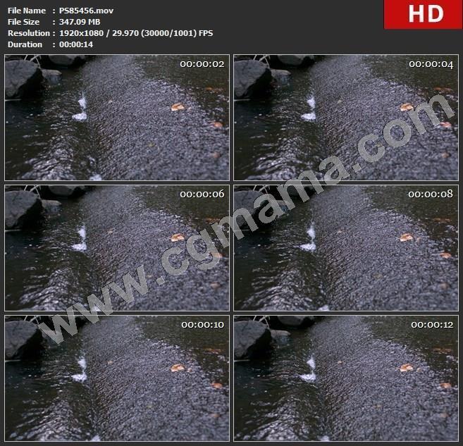 PS85456慢动作的瀑布延时拍摄慢动作高清实拍视频素材