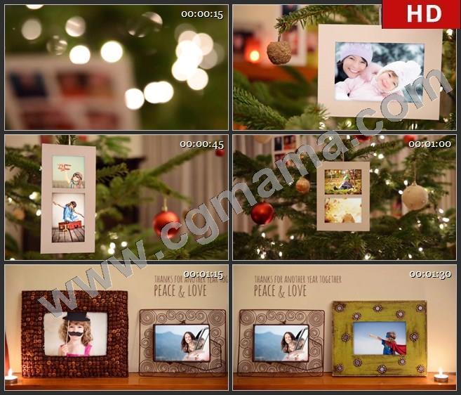 AEB01838 难忘的记忆圣诞节相册模板AE模板