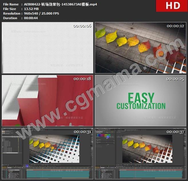 AEB08422-转场效果包-14538673AE模板