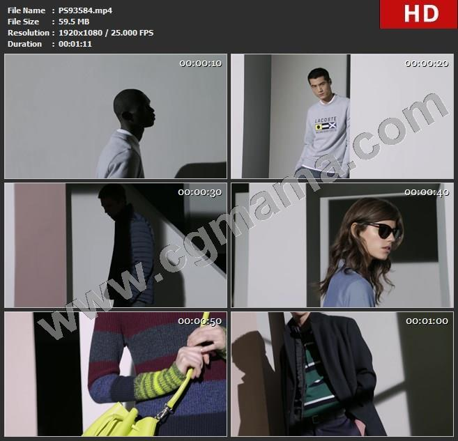 PS93584Lacoste  鳄鱼服饰广告Lacoste FW16-17 Collectioncgmama高清欧美广告tvc视频素材