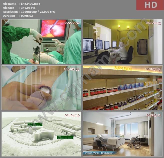 LH43409TMC 医院 Life Sciences Berhad高清宣传片视频素材