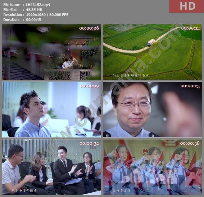 LH43152《信比金坚》安徽省国税局高清宣传片视频素材