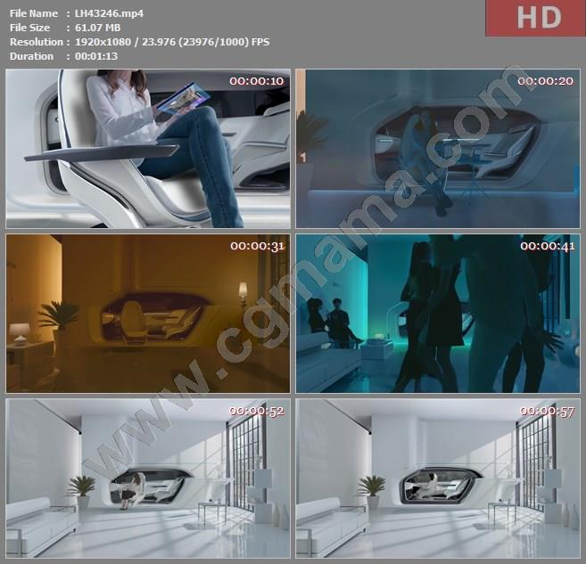 LH43246Hyundai 现代The Future of Mobility Envisioned高清宣传片视频素材