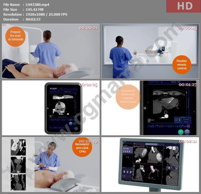LH43380SIEMENS Healthineers  Clinical consistency in cardiac高清宣传片视频素材