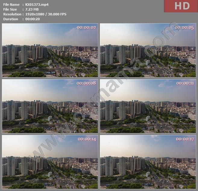 KX01373高清2k宝安中心宝安大道城市车流延时高清实拍视频素材