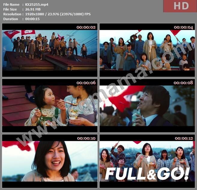 KX25255日本广告2020食品-Calbee 麦片广告 フルグラ ザクザクの朝がきた篇2002期高清广告tvc视频素材